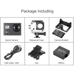 Only US$28.69, black SJ6000 Full HD Wifi 12MP 1080P 30FPS 140 Degree Wide Lens - Tomtop.com