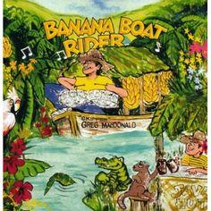 Greg Macdonald - Banana Boat Rider, Blue