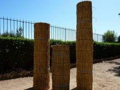 Paillasson - Paillasson de 2m sur 5 m - Roseaux de camargue pour la fabrication de toiture, palissade, parasol, ombrage, protection contre le gel
