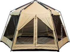Coleman Instant Up Screen House With Awnings See More World FamousR 13x12 Foot Lodge Gazebos Rain Flaps