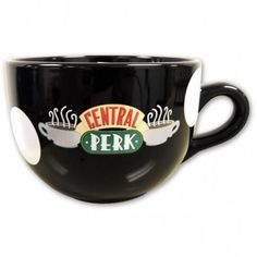 Don't always have to be plugged into a TV or another digital device when you own this Central Perk mug .Your FRIENDS & CENTRAL PERK will always be with you with this mug Friends Central perk coffee mug Tv: Friends, Friends Tv Show, Friends Episodes, Friends Merchandise, Bowls, Friend Mugs, I Love Coffee, Coffee Shop, Cute Mugs