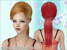 Skysims Hair 154  Found in TSR Category 'Sims 2 Downloads'