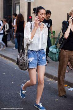 Liu Wen Street Style