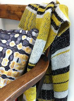 Blanket and Cushion from the Aran Ambitions collection A/W 2014