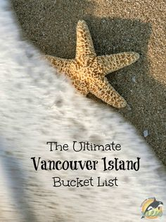 Are you looking for some great ideas or spectacular places to explore on Vancouver Island? Check out this ultimate Vancouver Island Bucket List! Victoria Vancouver Island, Vancouver Travel, Visit Vancouver, Victoria Island, Things To Do Camping, Camping Places, Camping Stuff, Camping Tips, Buchart Gardens