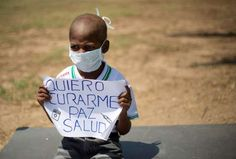 This was Oliver Sanchez. He passed away because there were no chemotherapy drugs available in Venezuela.
