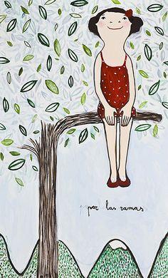 Eva Armisen / in the branches