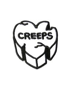 Creeps Heart Patch
