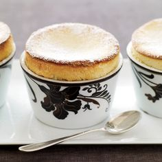 To make these individual soufflés sturdy, Maria Helm Sinskey uses choux pastry (the dough for gougères and profiteroles) mixed with airy meringue an...