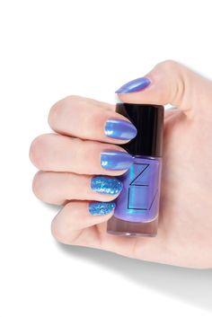 ZILA SHIMMER 120 Blue Sky , wielowymiarowy lakier z fioletowymi tonami.    #zila #zilanails #zilalakiery #lakieryzila  #mani #manicure #nailart #nailporn #nails #paznokcie #drogeriapl #drogeria.pl