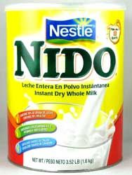 Great powdered milk -- available with the Mexican foods.  So much better than the Carnation stuff!