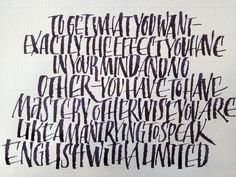 Calligraphy Practice - Amity Parks Calligraphy