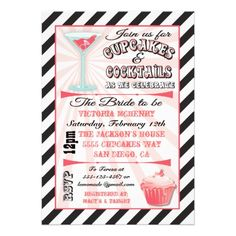 Discount DealsCupcakes and Cocktails Bridal Shower Invitationstoday price drop and special promotion. Get The best buy