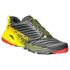 promo code af236 792e6 Zapatillas de trail-running LA SPORTIVA AKASHA NEGRO AMARILLO ROJO Trail  Running