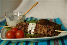 Hoje para jantar ...: Kebab com Molho Tzatziki