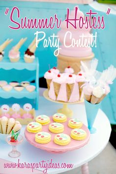 Summer Hostess Party Contest Finalists! Voting Begins!