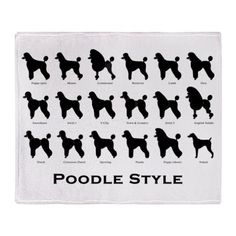 Poodles are the best to groom, so many different styles !