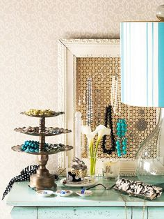 Lovely Jewelry Storage Ideas...