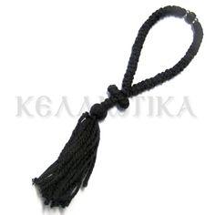 Κομποσχοίνι μάλλινο 50αρι με σταυρό και χάντρες http://www.kelliotika.gr/el/handicrafts/prayer-ropes/woolen/1291-detail.html Prayer rope woolen 50 knot with cross and beads http://www.kelliotika.gr/en/handicrafts-en/prayer-ropes-en/woolen-en/1291-en-detail.html