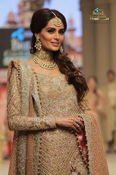 Pakistani designer Faraz Manan bridal
