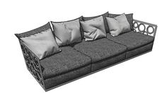Large preview of 3D Model of mode-sofa