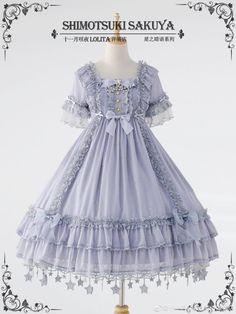 Shimotsuki Sakuya -The Whisper of Stars- Lolita OP Dress - Round 4 Preorder