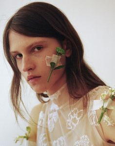 From the block of pink marble to the white wire cage, Simone Rocha's store is a place which expresses the beautiful contradictions of her creative world.