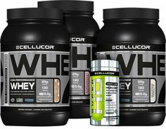 Cellucor supplements...a few of my fave protein powders + fat burner, Super HD