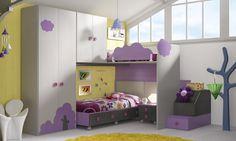 Habitaciones infantiles temáticas paisajes dibujos animados KD6