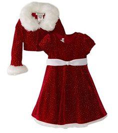 Bonnie Jean - Girls Christmas Dress Velvet Sparkle Dress with Jacket (3T) Bonnie Jean http://www.amazon.com/dp/B00GJX8RT8/ref=cm_sw_r_pi_dp_N2Qwwb0R2FVC9