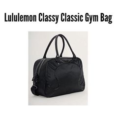 Lululemon Classy Classic Gym Bag This bag is in perfect condition. It's free of any damage! Smoke fm pet free home Accepting Offers ❗️ lululemon athletica Bags