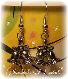 Christmas Crafts 2013: Vela y pendientes navideños