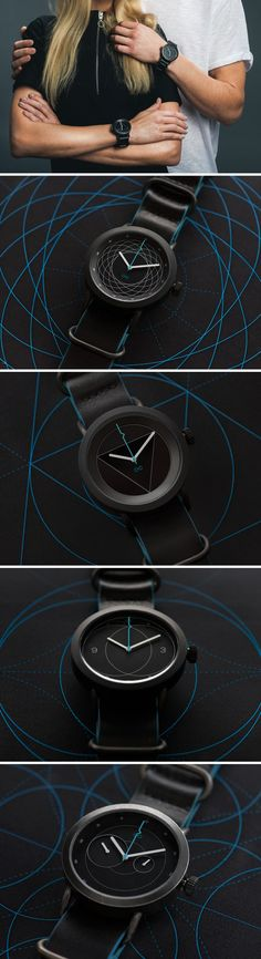 The makers behind the Divided By Zero watch have coined the term 'Scientific Design' for their watchmaking process. Each watch is an ode to different scientists like Newton, Archimedes and Galileo. Individual variants experiment with sub-dials and multi layered faces, making each version not just a graphic or color variant but an entirely different watch in itself.