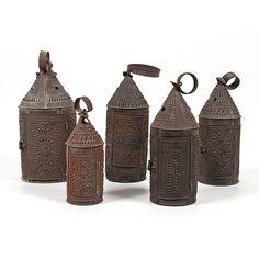 Punched Tin Lanterns