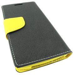 Amazon.com: myLife Gorilla Black + Bright Yellow {Simple Design} Faux Leather (Multipurpose - Card, Cash and ID Holder + Magnetic Closing) F...