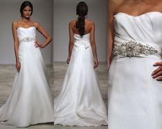 Amsale Harlow dress #wedding #dress