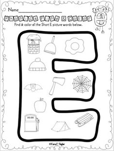Phonics Find and Color Freebie! Preschool Education, Preschool Learning Activities, Preschool Lessons, Reading Tutoring, Kindergarten Reading, Teaching Reading, Alphabet Phonics, Alphabet Worksheets, English Abc