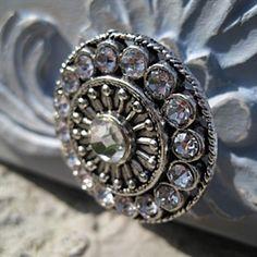Glass Knobs / Clear Crystal Knob / Drawer Knobs / Dresser Pulls ...