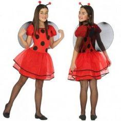 Disfraz de #Mariquita infantil #mercadisfraces #tienda de #disfraces #online disponemos de disfraces #originales perfectos para #carnaval.