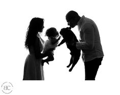 Bridget Corke Photography - Baby and Dog Silhouette Shoot in Johannesburg Studio: Dog Silhouette, Baby Dogs, The Past, Studio, Portrait, Couple Photos, Couples, Photography, Image