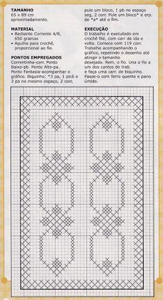 Trabalho em BARBANTE Banheiro & Cozinha Nº33 - Lucia Crochê - Picasa Web Albums