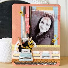 Looking back at old scrapbooking projects and seeing changes in myself. Some I love and some I don't. Do you ever feel that way? #jengallacher #scrapbooking #scrapbooklayout
