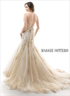 Large View of the Montice Bridal Gown