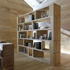 Libreria Librerie I Massivi - complementi d'arredo in legno massiccio - ITLAS pavimenti in legno