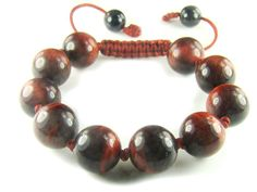 BB0604N Red Tigers Eye  Gemstone Healing Natural Crystal Shamballa Chinese Knot Bracelet - See more at: http://waggashop.com/wagga-shop-bb0604n-red-tigers-eye--gemstone-healing-natural-crystal-shamballa-chinese-knot-bracelet