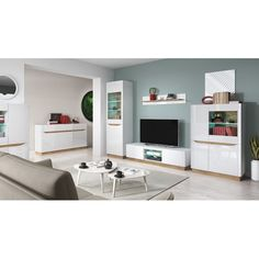 Details about living room furniture set glass cabinet tv unit stand display led lights shelf Breakfast Food List, Breakfast Recipes, Oatmeal Smoothies, Tv Unit, Summer Salads, Icon Design, Rustic Decor, Living Room Furniture, Shelves