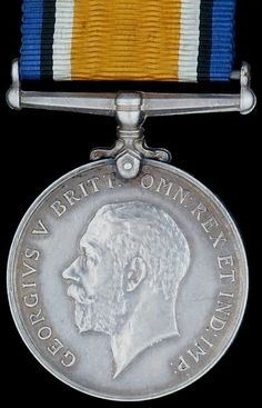 British World War I: 1914-1920 Service Medal