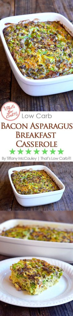 If you love breakfast casseroles but can't have dairy on your low carb diet, then this is the breakfast casserole you've been searching for! ~ https://www.thatslowcarb.com