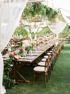 How amazing is this reception. Photography : Brushfire Photography  Read More on SMP: http://www.stylemepretty.com/arizona-weddings/scottsdale/2016/08/19/outdoor-desert-scottsdale-wedding/