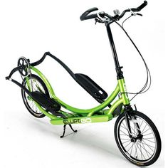 ElliptiGo 8C: Get a runner's high—sans impact—on this cross-trainer combo of an elliptical machine and a bike.